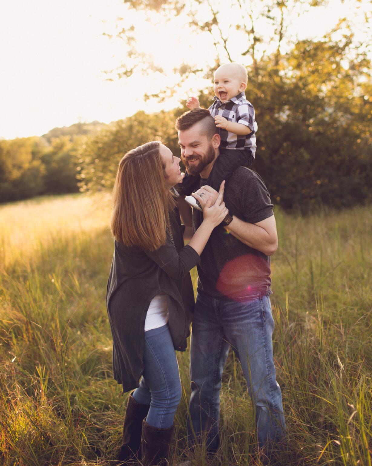 Phillip Sanford and Family
